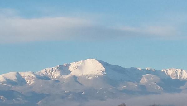 Pikes Peak Snow Capped