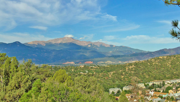 Gray Heights Pikes Peak View